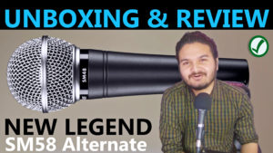 Shure SM48-LC Microphone : Unboxing