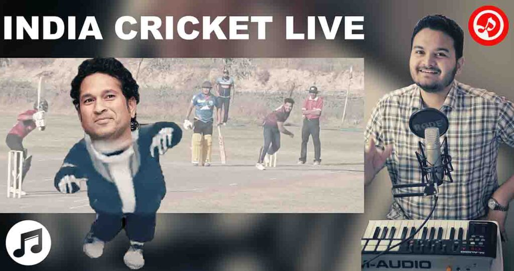 India Cricket Live – Hindi Song On Old Indian Cricket Team
