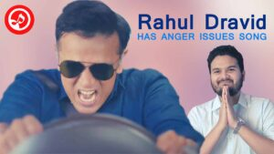Rahul Dravid Has Anger Issues Song | SANEETS Music [Cred App]
